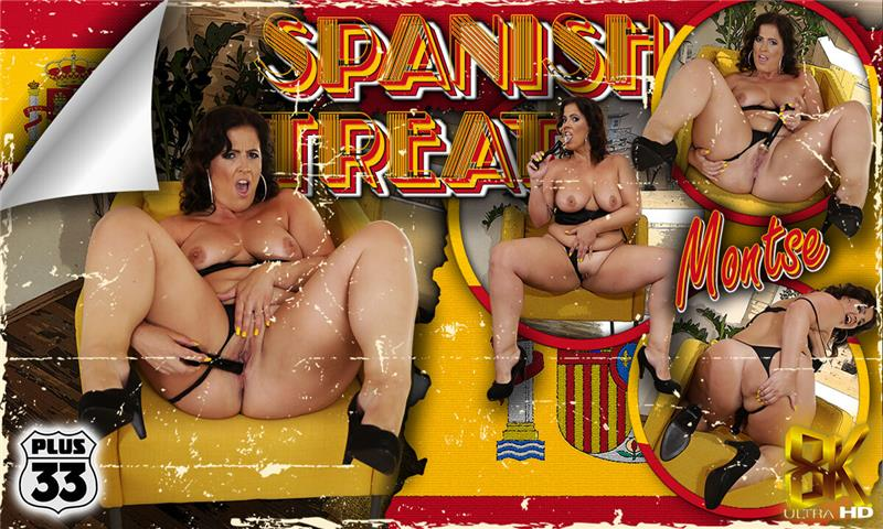 Spanish Treat Curvy Spanish MILF Solo Masturbation Montse Swinger