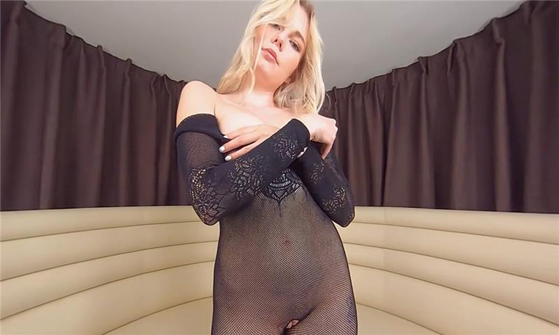Mimi Cica - Natural Blonde Solo Masturbation