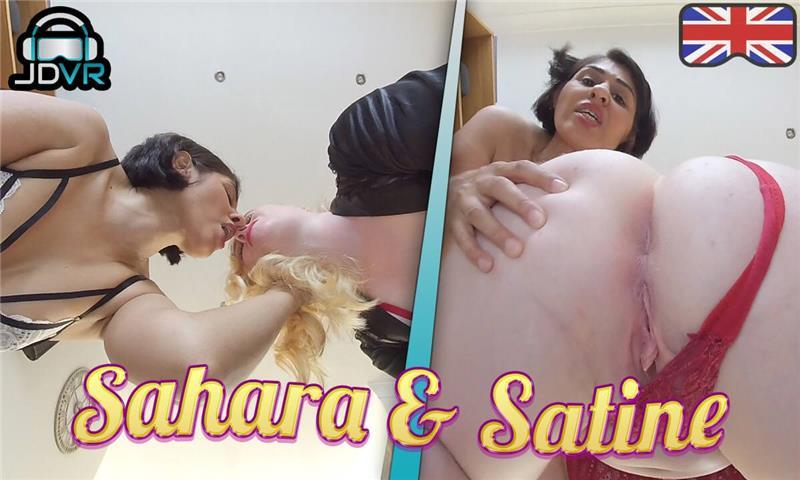 Sahara and Satine - Face Sitting Fetish POV VR