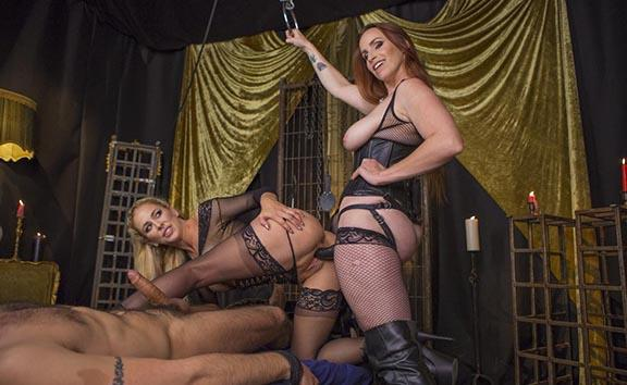 Property of Cherie DeVille Part 2: Lesbian Cuckolding