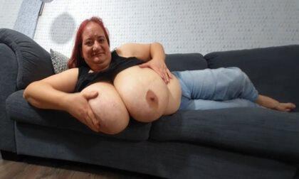 Sunniva Lolling on the Sofa