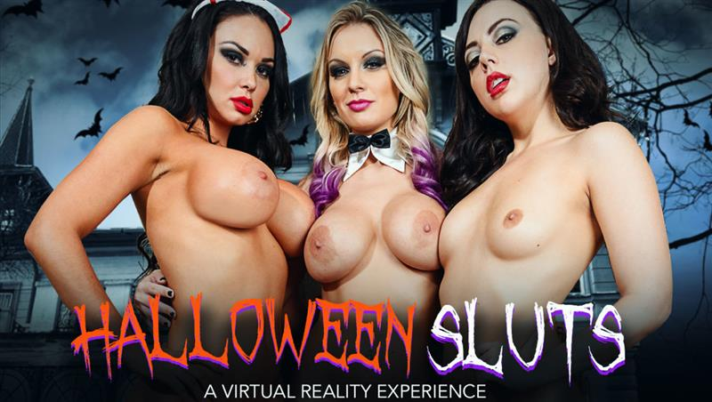 Brooke Beretta, Kenzie Taylor and Whitney Wright Fuck In VR