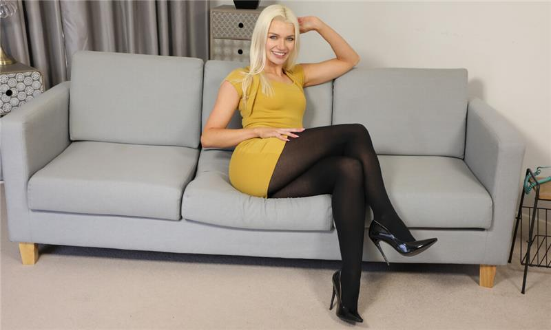 Lydia Jane - Home From Work Striptease