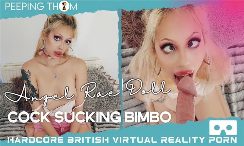 Cock Sucking BIMBO Amateur Blonde Blowjob POV VR