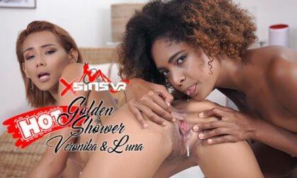 Veronica Leal & Luna Corazon - Golden Shower