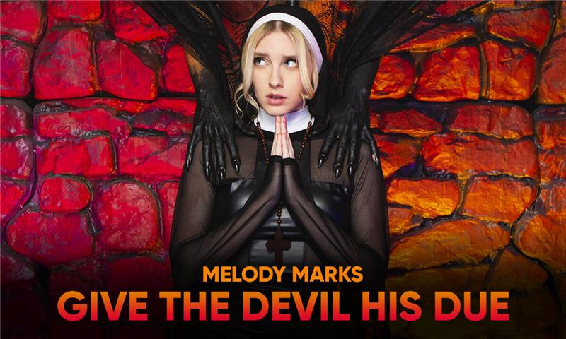 Give the Devil his Due - Blonde Babe Nun Cosplay Fucked Hard POV Ultra HD VR