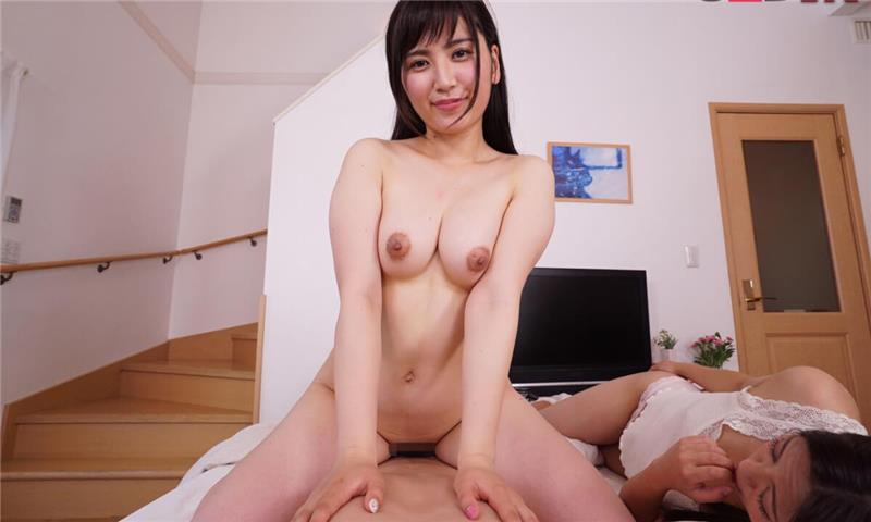 Arisa Kawasaki and Kamiya Mitsuki – On the Left is the Big Stepsister! On the Right is the Little Stepsister! - FFM Asian Hardcore Threesome