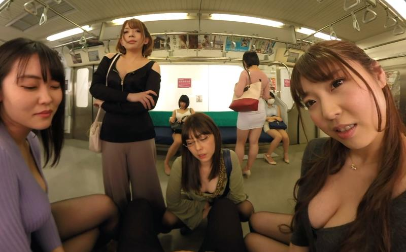 You Accidentally Boarded the Ladies-Only Train Car