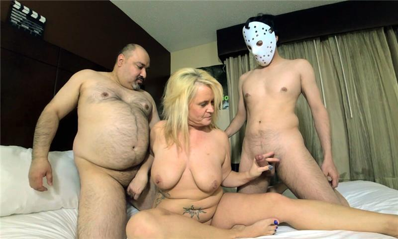 MILF Ivy Carlson Mini Gangbang part 1 of 2 with Creampie