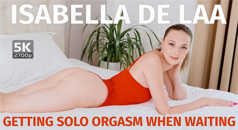 Getting solo orgasm when waiting