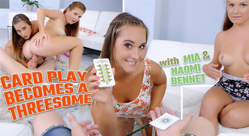Card Play Becomes a Threesome