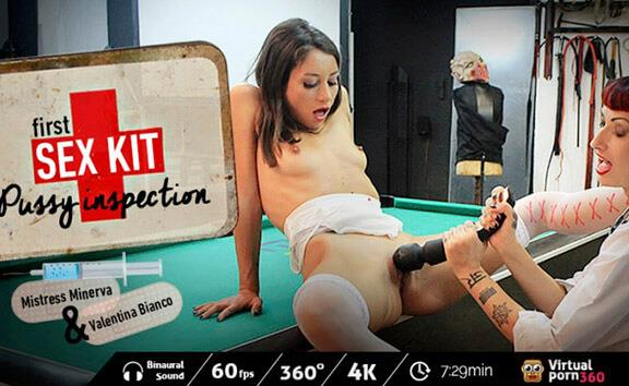 First-Sex Kit: Pussy Inspection