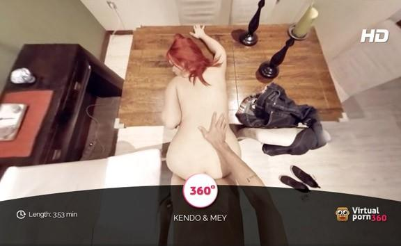 Redhead May fucked on the table
