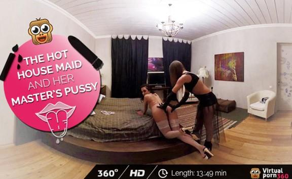 The hot house maid and her master´s pussy