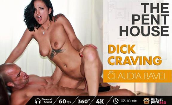 The Penthouse: Dick Craving - Tattooed Brunette Riding