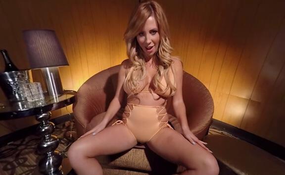Tasha Reign Topless Lapdance - Curvy Blonde with Big Tits