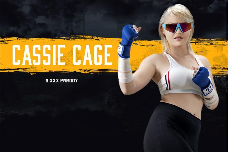 Mortal Kombat: Cassie Cage A XXX Parody