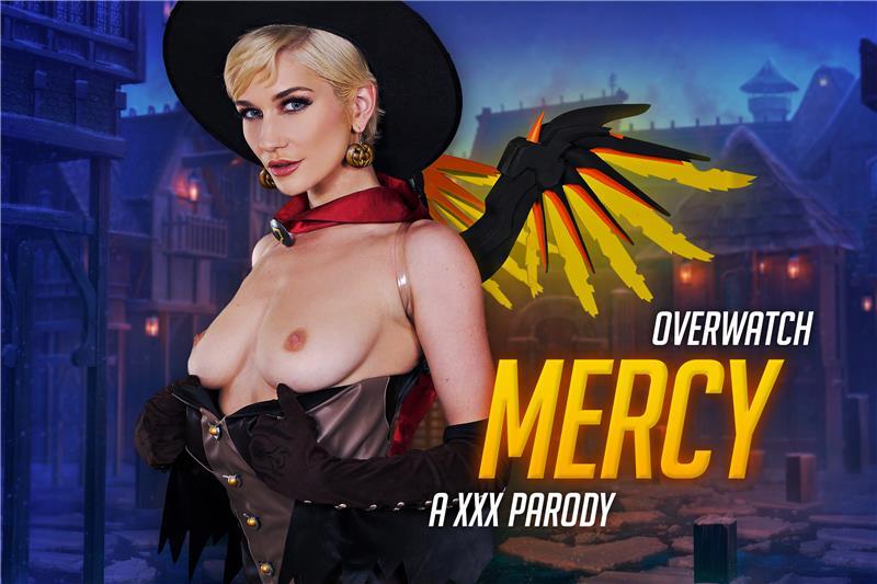 Overwatch: Mercy A XXX Parody Skye Blue