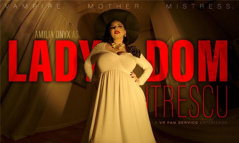Lady DOMitrescu - Vampire Mommy Dominatrix Cosplay