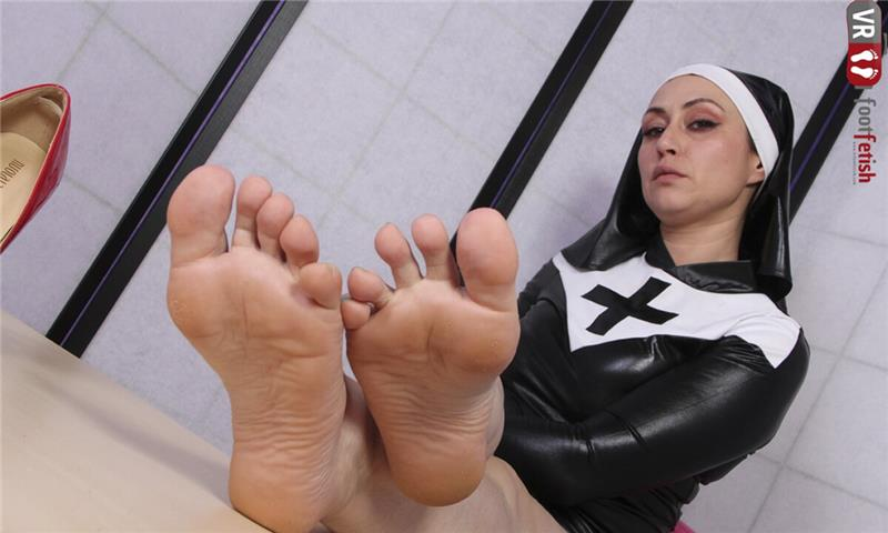 Sinfully Sexy Ammalia Mistreating You In A Nun Costume