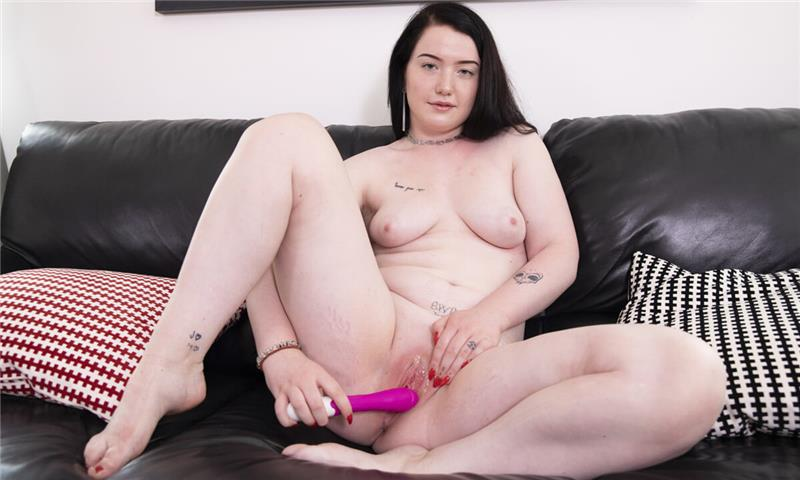 Young Amateur Viktorie Plays With Her Toy