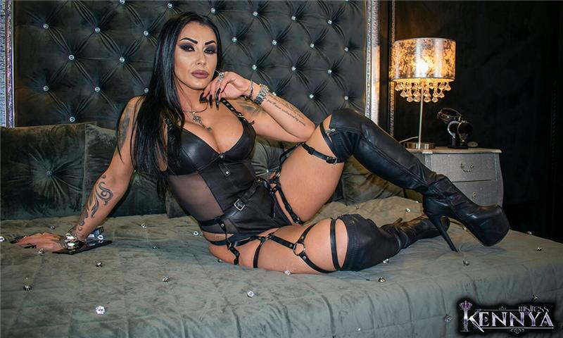 Mistress Kennya - Addicted And Horny For My Smoke, Body & Voice