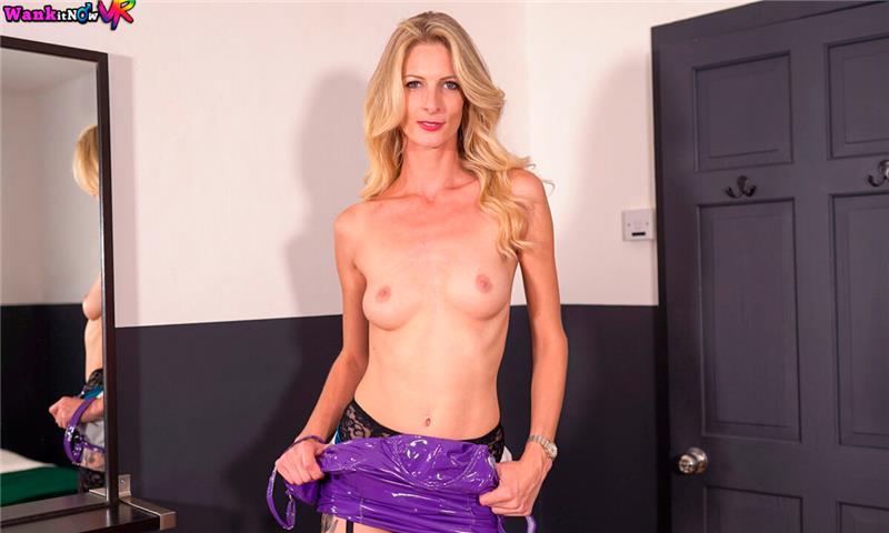 Your Browser History - Nylons Lingerie PVC Dress Striptease JOI